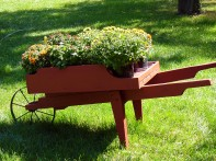 Wheelbarrow built by customer